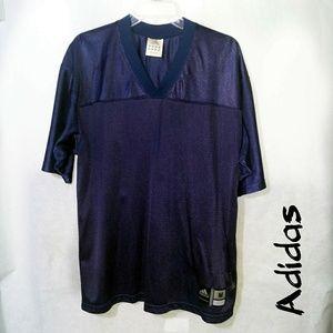 Adidas medium dark blue football practice jersey